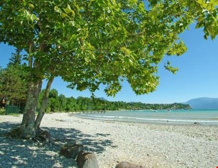 La spiaggia del Camping Zocco