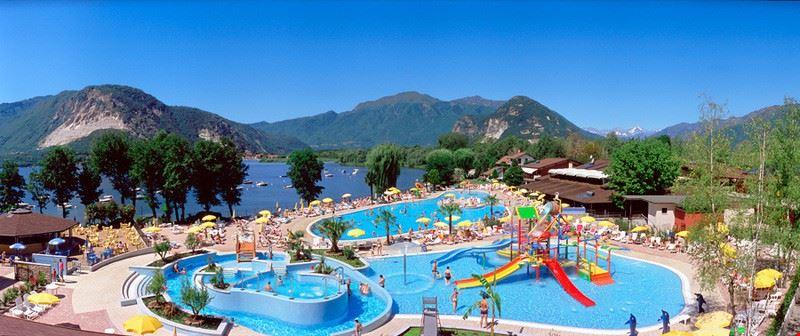 Parco Piscine del Camping Village Isolino