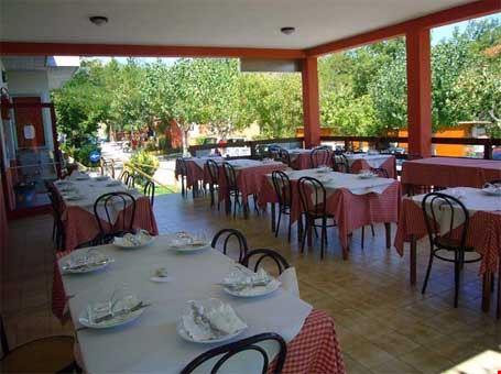 Il ristorante del camping village