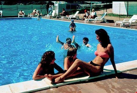 La piscina del Camping