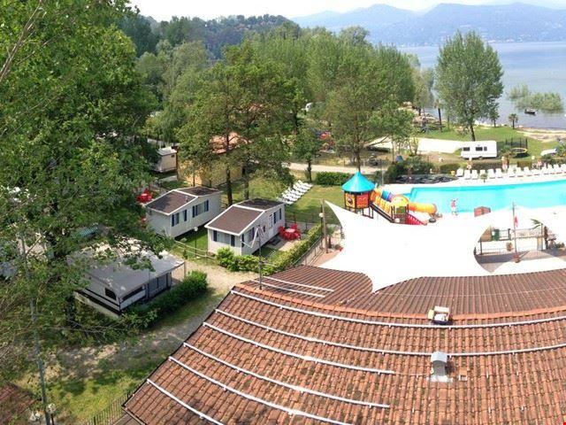 Camping Village con Piscina, Lago Maggiore