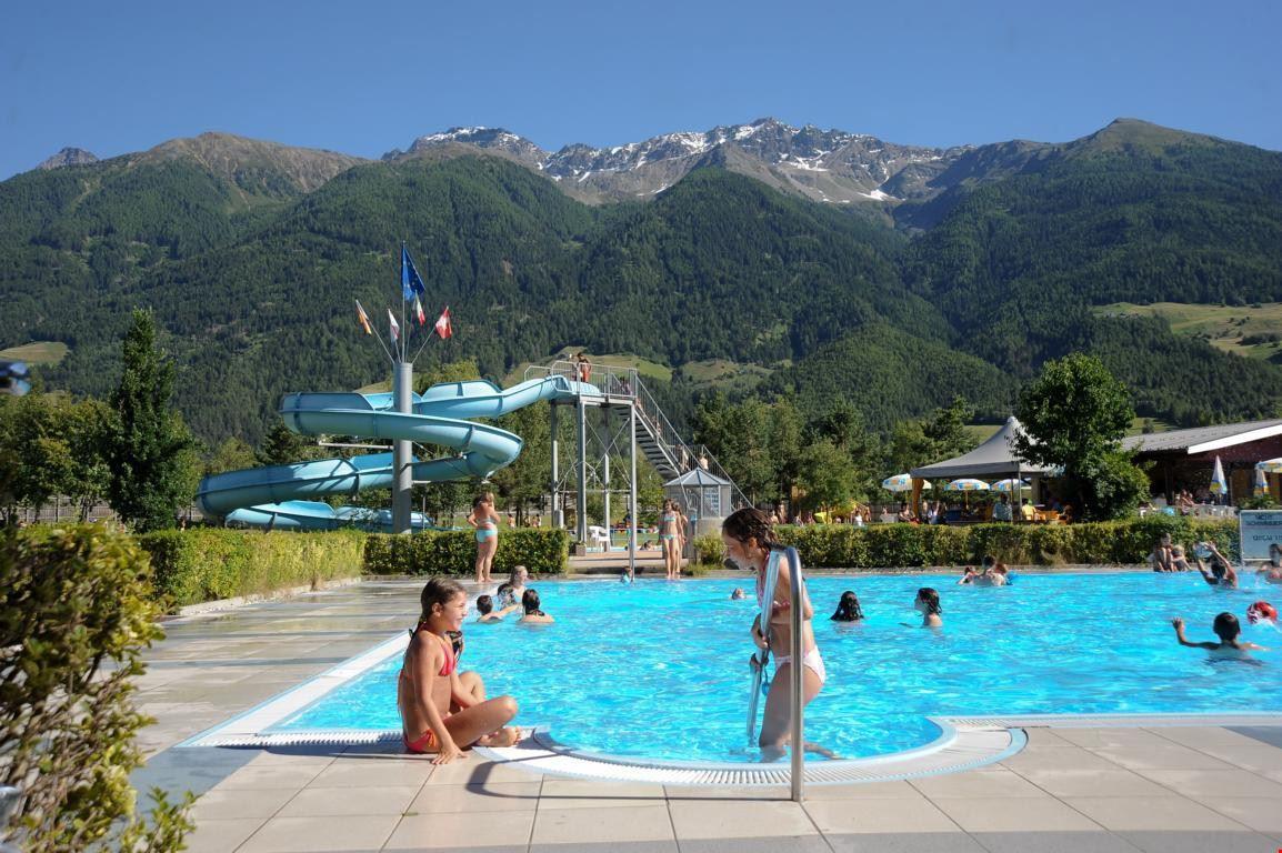 Camping Residence con Piscina in Val Venosta