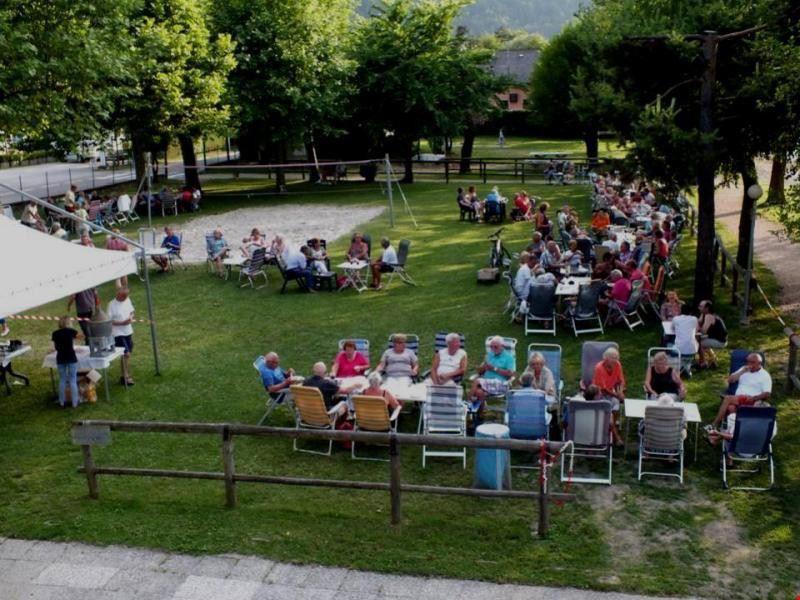 Camping con bar sul Lago di Caldonazzo