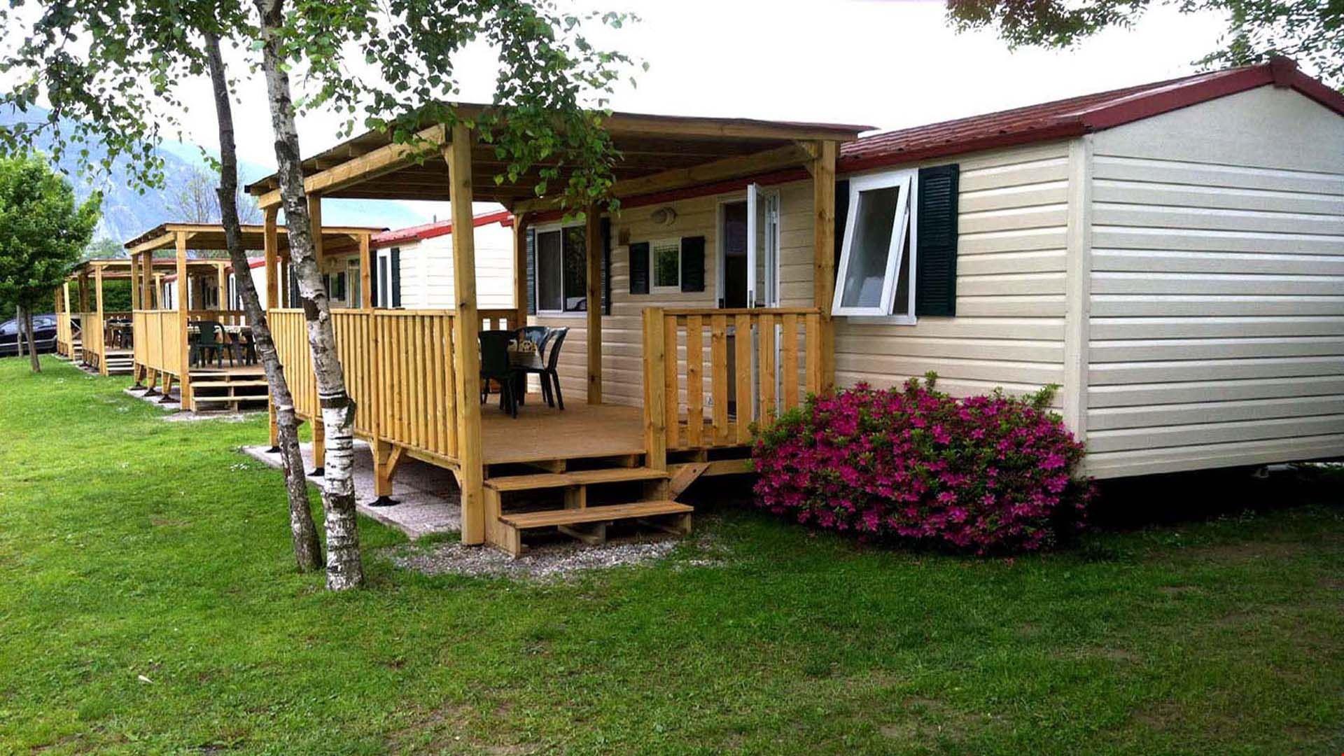 Camping con Mobile Home a Baveno, Lago Maggiore