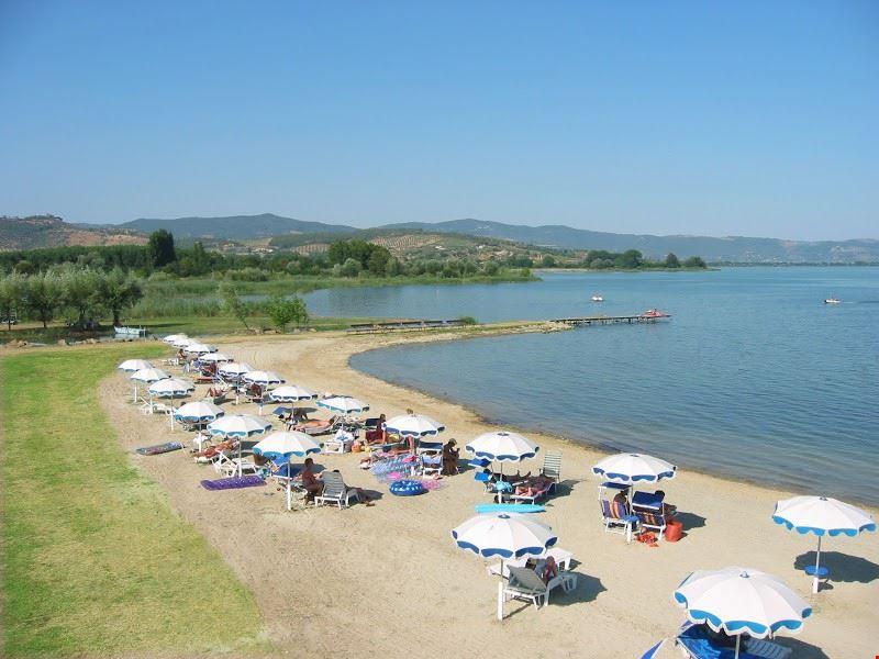 La Spiaggia attrezzata del Badiaccia Camping Village