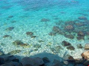 Il mare a Ricadi