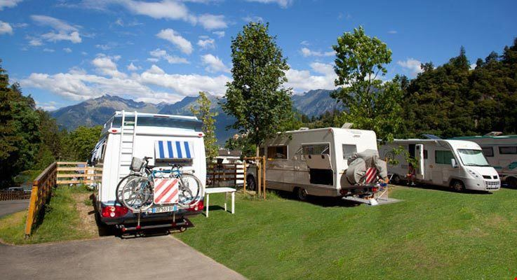 Camping nelle Dolomiti, Trentino Alto Adige