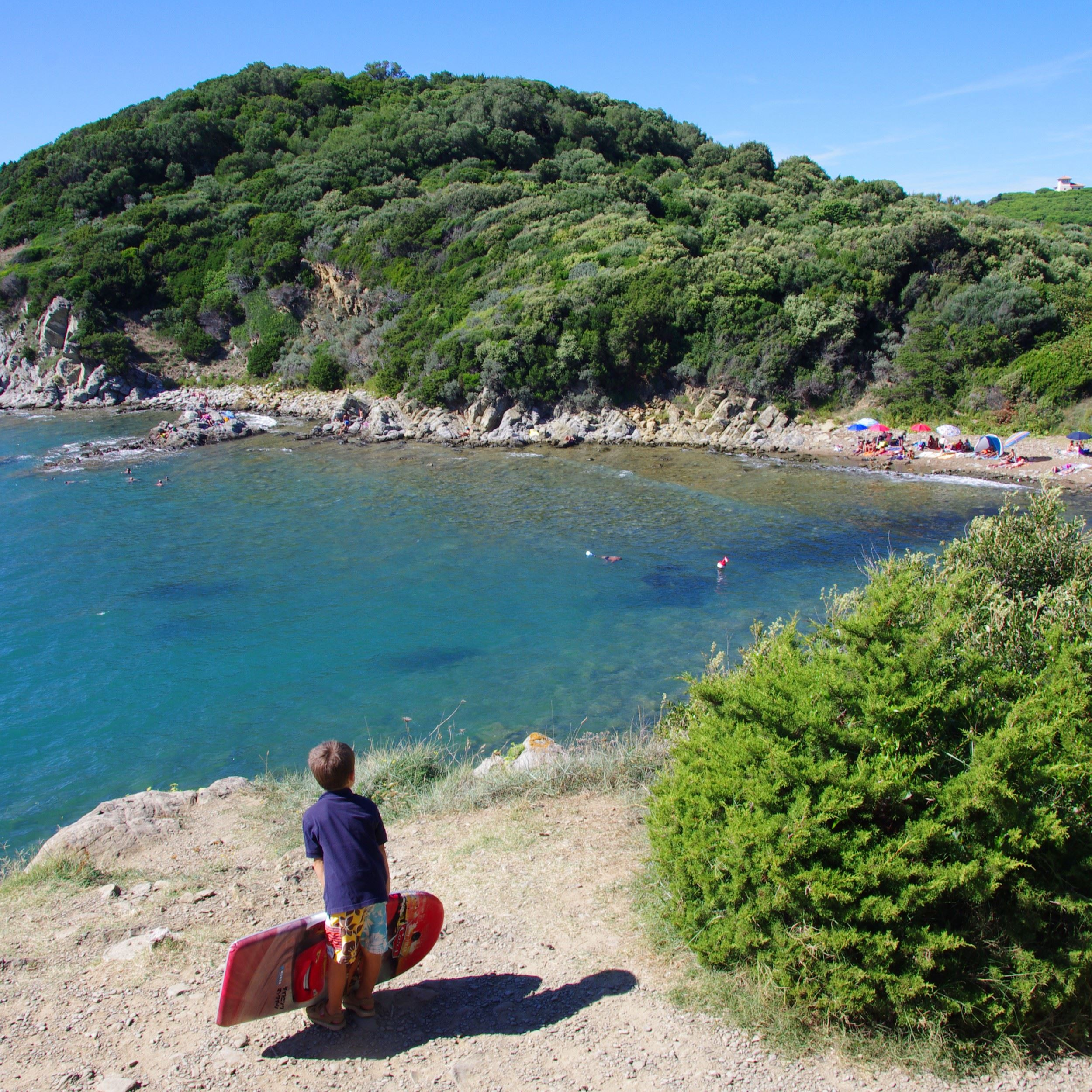 Camping sul mare in Toscana