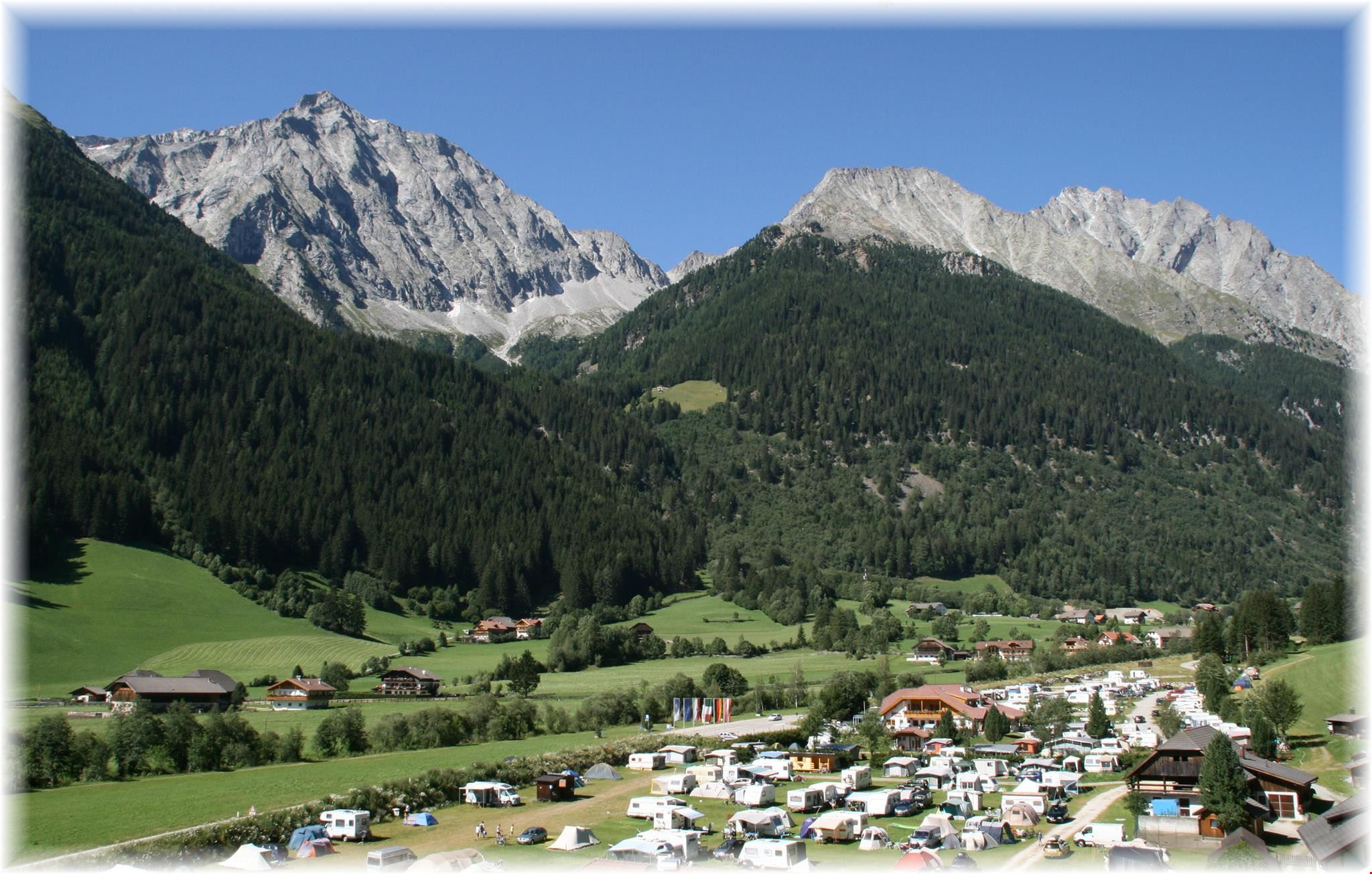Camping in Valle Anterselva in Alto Adige