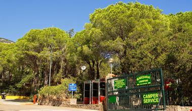 Camping con Camper Service a Cala Gonone, Sardegna