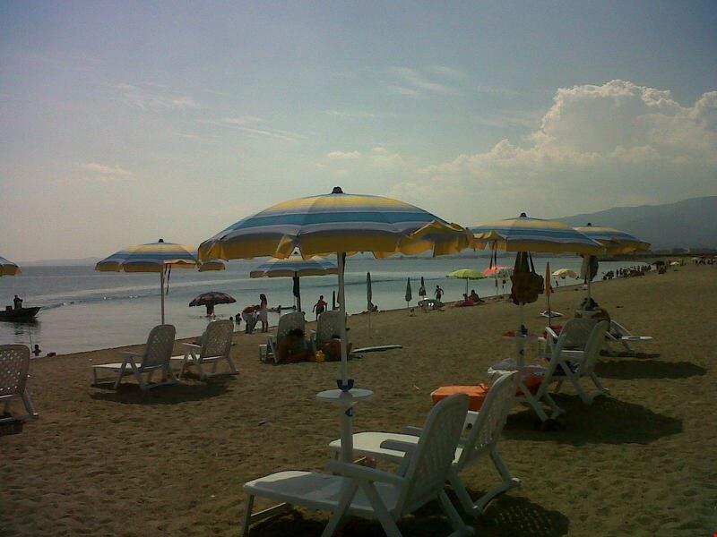 Camping sul mare a Corigliano Calabro