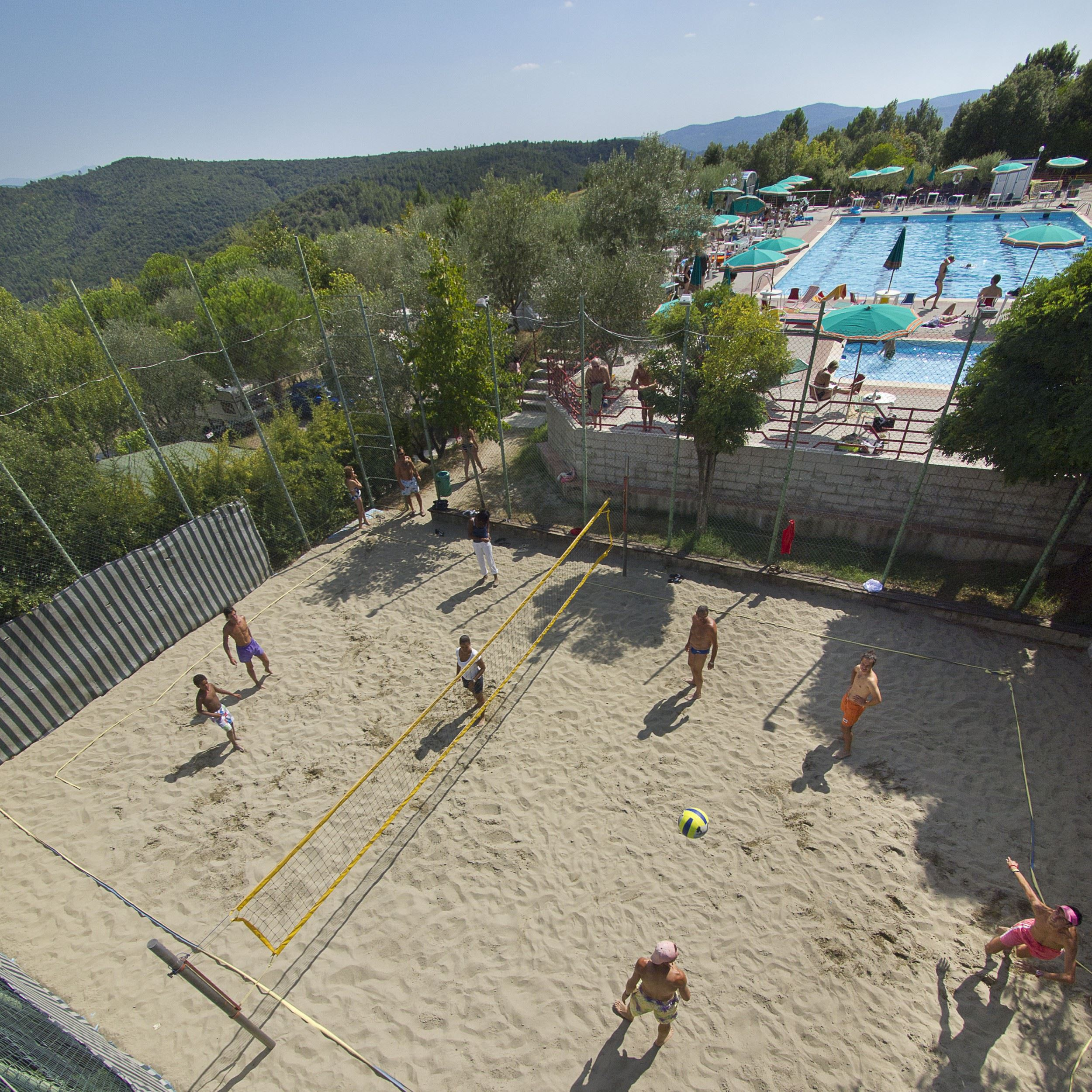 Beach Volley al Camping le Soline