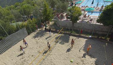 Beach Volley al Camping le Soline