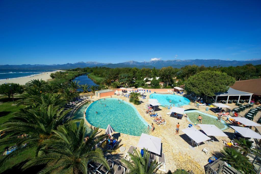 Panoramica delle piscine