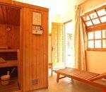 Sala con sauna finlandese