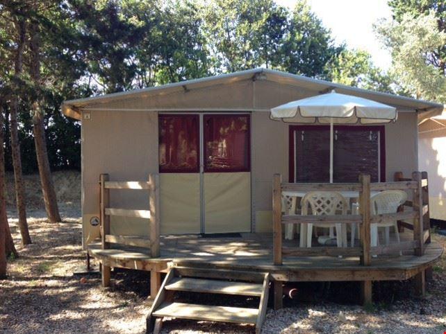 Esterno dell'Housing Tent