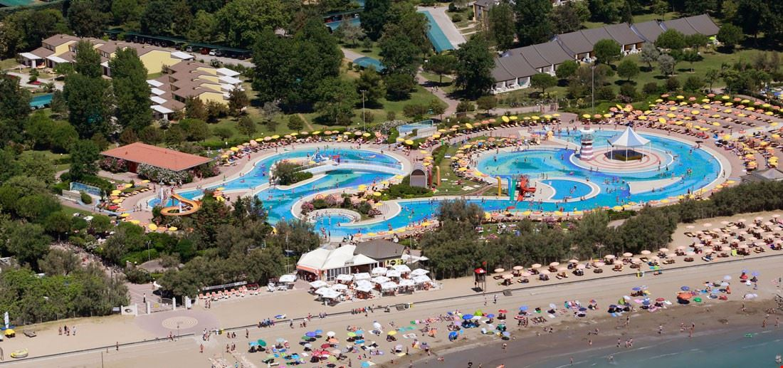Il Parco Acquatico del centro vacanze