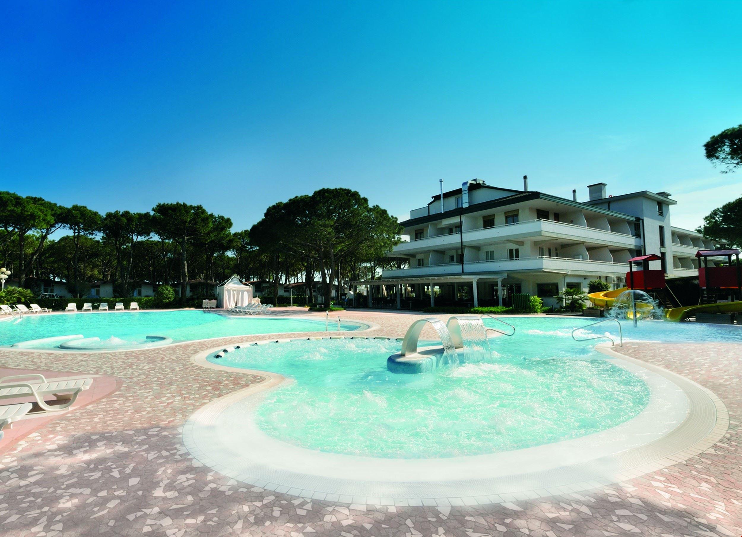 Residence con Piscina Idromassaggio