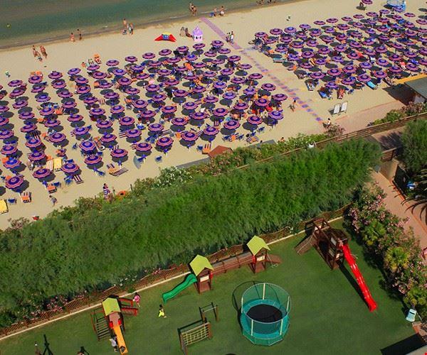 Camping Village con Spiaggia Privata a Tortoreto Lido, Abruzzo