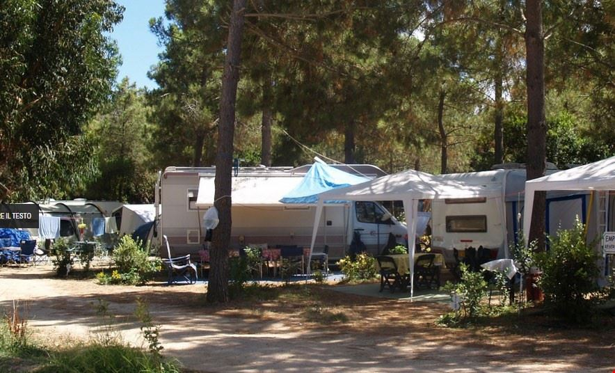 Camping in Corsica