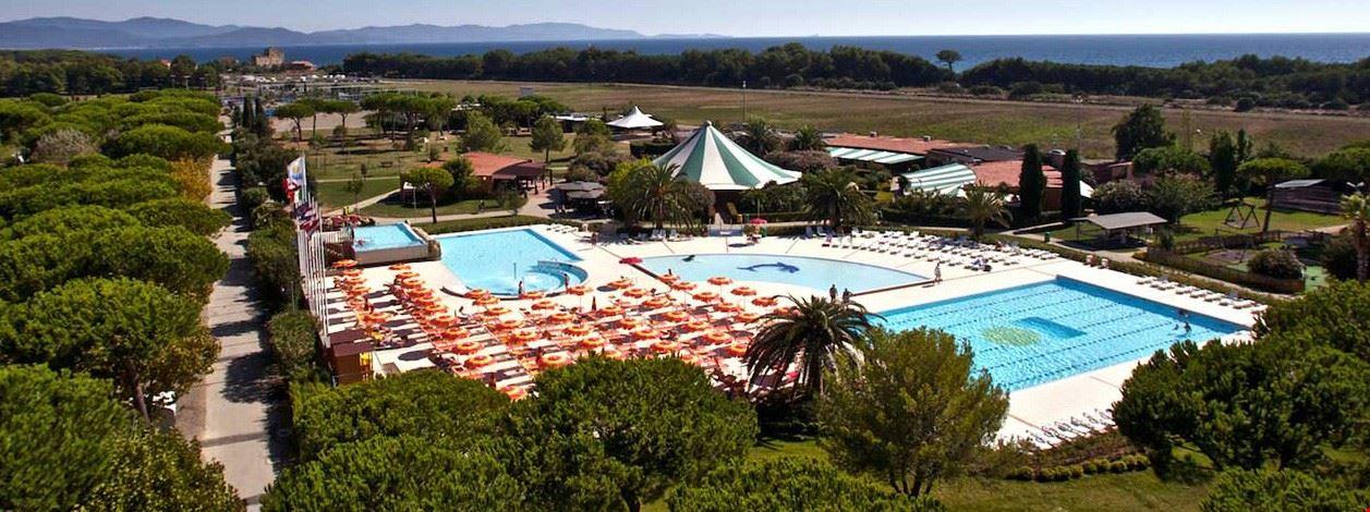 Campeggio in Toscana con piscina