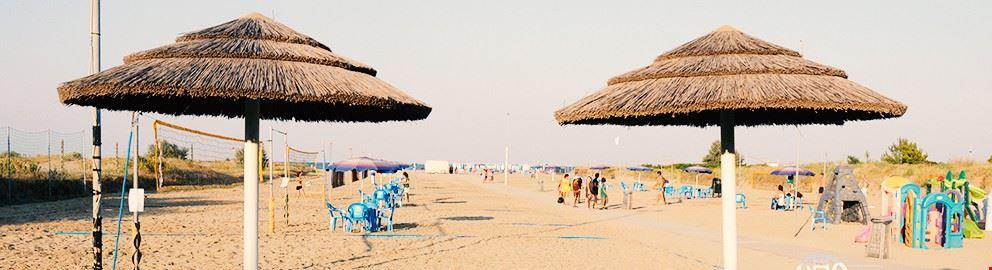 Spiaggia a Marina Romea