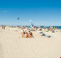 Spiaggia libera Milano Marittima