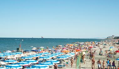 Spiaggia a Punta Marina Terme