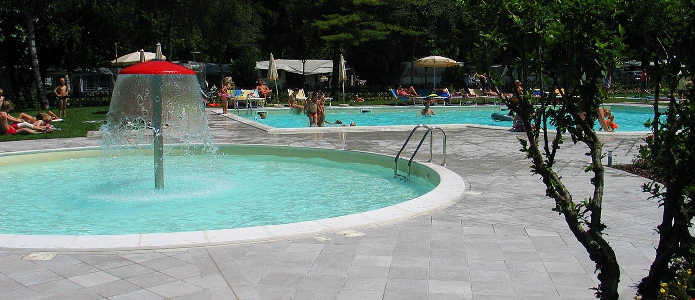 Camping con Piscina in Trentino Alto Adige