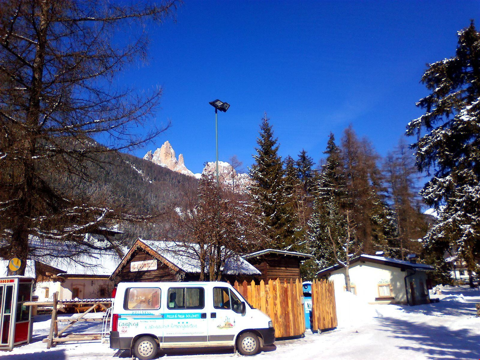 Camping a Pozza di Fassa, Trentino Alto Adige