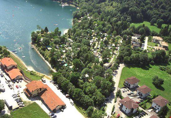 Campeggio sul Lago di Ledro, Trentino