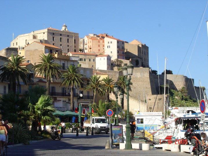 Camping a Calvi, Corsica