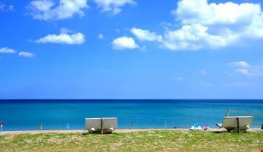 Campeggio sul mare in Calabria