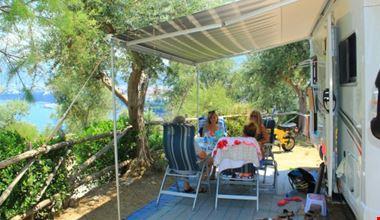 Relax in camper