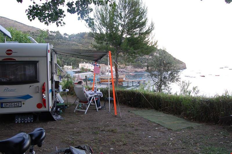 Sistemazione camper