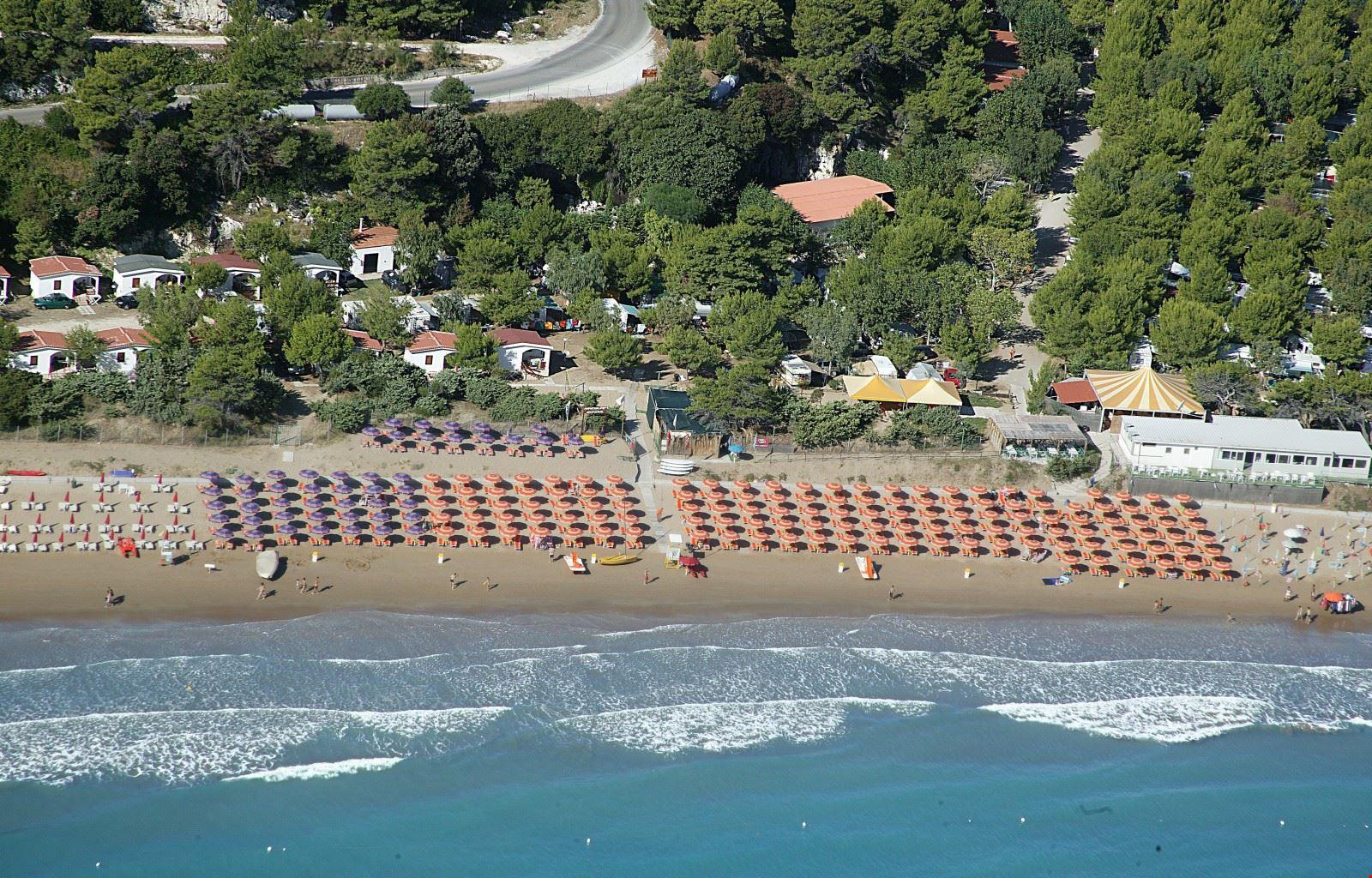 Spiaggia a Peschici