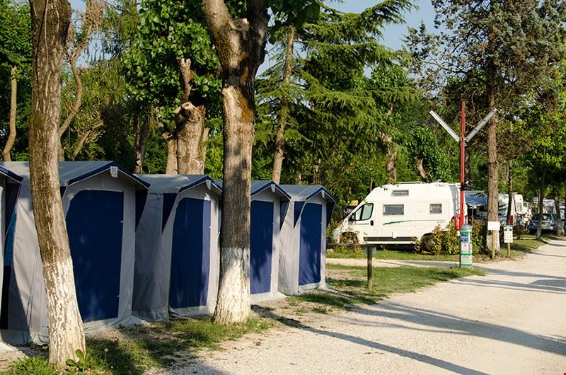 Campeggio a Venezia