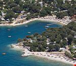 Panoramica del Valalta Naturist Camping, in Croazia