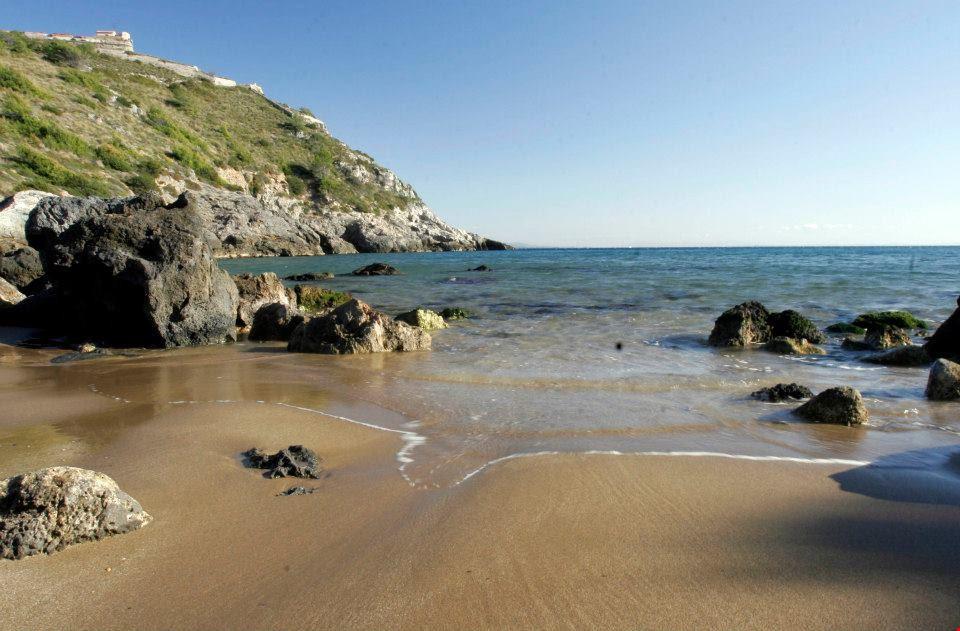 Spiaggia del Camping Marina Chiara