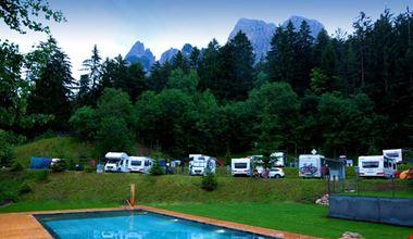 Camping in Estate