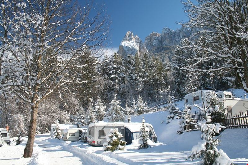 Camping in Inverno