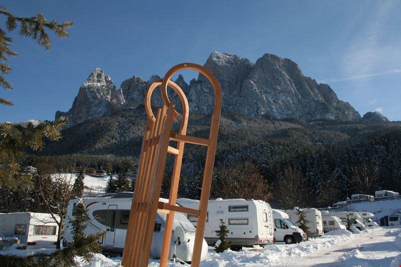 Campeggio Invernale in Alto Adige