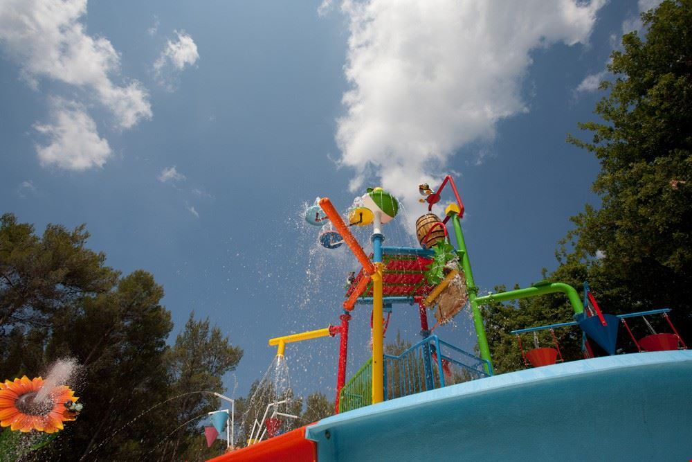Spray Park in Toscana