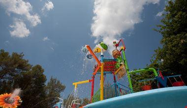 Spray Park in Toscana