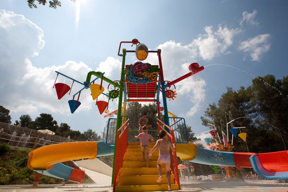 Spray Park al Camping le Pianacce