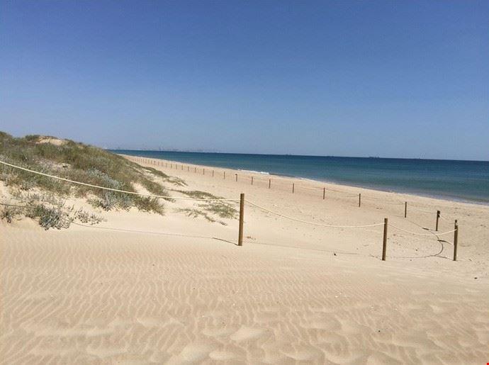 Spiaggia La Devesa a Valencia