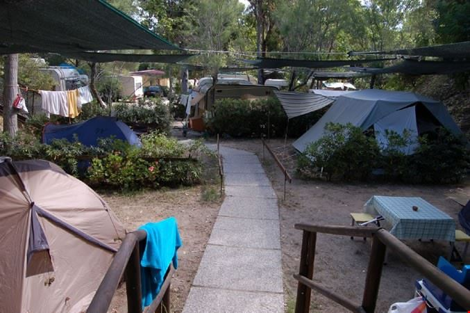 Camping a Portoferraio, Isola d'Elba