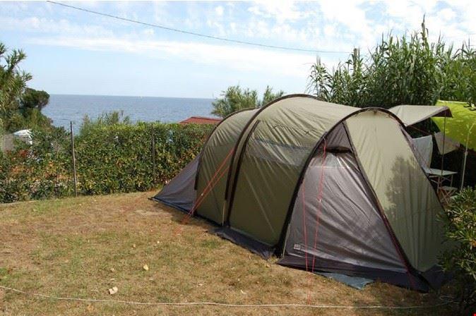 Camping sul Mare a Portoferraio, Livorno
