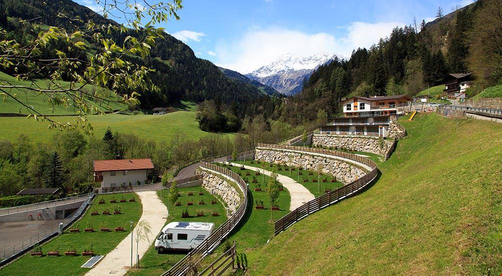 Camping Bungalow a San Leonardo in Passiria, Bolzano