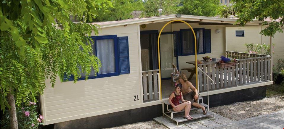 Sistemazioni del camping Jolly